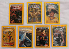 National Geographic 1977; January, March, April, June, August September November