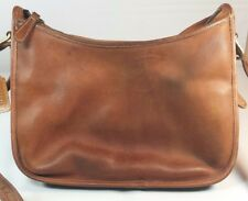 Vintage Coach Leather Purse Shoulder Bag Great Patina Made in USA