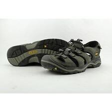 Keen Rialto Traveler Men US 8.5 Black Walking Shoe Pre Owned  1297