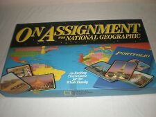 En mission avec national geographic educational board game