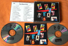 POP NEWS 3/91 2 CD Box CDs w NEU! YAZOO Bad Boys Blue BLUE SYSTEM Enigma ROXETTE
