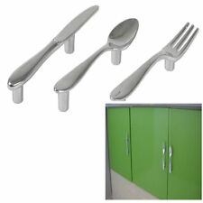 3pc Spoon Fork Knife Kitchen Cabinet Cupboard Wardrobe Drawer Pull Handle Knob