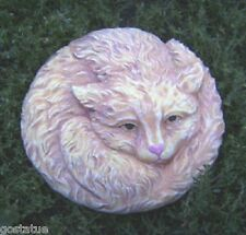 """cat plaque plastic mold 8"""" x up to 3/4"""" thick see 5000 molds in my ebay store"""