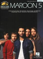 Piano Play-Along Maroon 5 Moves Like Jagger Keyboard Guitar PVG Music Book & CD