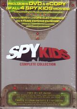 DVD BOX SET - SPY KIDS COMPLETE COLLECTION - Brand New Spy Kit Included 1 2 3 4