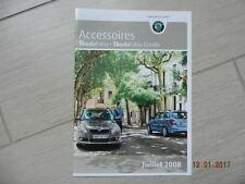 Catalogue Accessoires SKODA FABIA berline & combi juillet 2008
