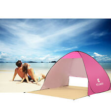 Instant Pop Up beach Shelter Tent Shade UV Protection Camping Outdoor Garden