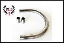 Cafe Racer Seat Hoop Custom Bobber CB KZ XJ GS Stainless Steel with inserts