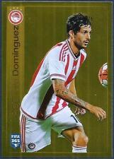PANINI-2016 FIFA 365- #539-OLYMPIACOS-ALEJANDRO DOMINGUEZ-GOLD FOIL