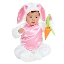 PLUSH BUNNY COSTUME Infant 6-18M Baby Girls Cute Charades Photo Halloween NEW