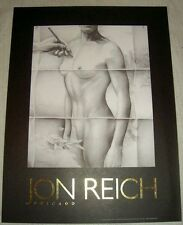 "Jon Reich Art Gallery  ""Transparency II"" poster Female nude front   24"" x 32"""