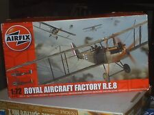 AIRFIX W.W.1  ROYAL AIRCRAFT FACTORY R.E.8 1:72 SCALE