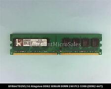 Kingston KVR667D2N5/1G DDR2 1GB PC2-5300 Non ECC 667Mhz RAM Memory
