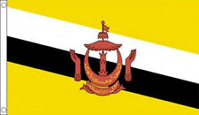 BRUNEI FLAG 5' x 3' Burneian Flags Borneo Indonesia Malaysia