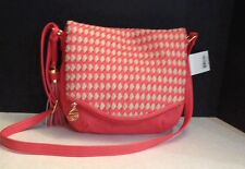 Big Buddha Coral/Stone Shoulder Bag Handbag NEW with Tags Great Spring Bag