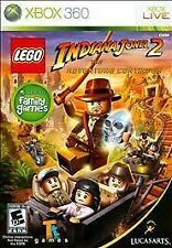 XBOX 360 LEGO INDIANA JONES 2 BRAND NEW VIDEO GAME