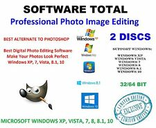 NEW 2016 Professional Photo Image Editing Software-GIMP-with PDF Guide-CD