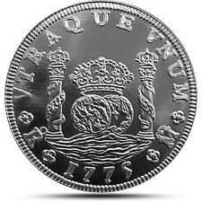 Collectors Classic Series Spanish Pillar Dollar 1 oz .999 Silver BU Round Coin