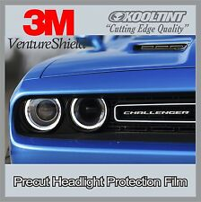Headlight Protection Film by 3M 2015 2016 Dodge Challenger