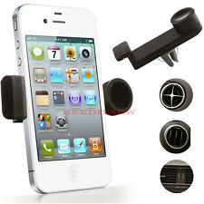 Universal Mobile Phone in Car Air Vent Mount Cradle Stand Holder For iPhone 6 UK