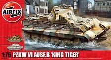 Airfix A03310 1/76 Plastic WWII German Pzkw VI Ausf.B 'King Tiger' Tank