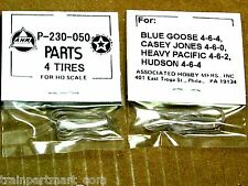 P-230-050 TRACTION TIRE FACTORY ORIGINAL PARTS, AHM & RIVAROSSI HO SCALE TRAINS