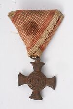 Austria Hungary 1916 Iron Cross of Merit WW1 Medal Verdienstkreuz NCO