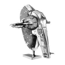 Slave 1 : Metal Earth 3D Laser Cut Star Wars Miniature Model Kit 2 sheets