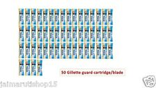 "50 Gillette guard cartidge for ""Gillette Guard Razor"" gilette gilete safty blade"