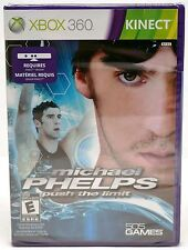 NEW SEALED XBox 360 Michael Phelps Push the Limit Video Game kinect swimming NEW