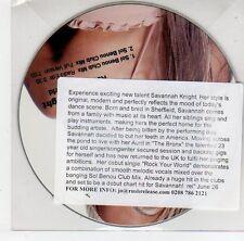 (EG568) Savannah Knight, Rock Your World - DJ CD