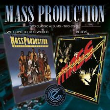 Mass Production - Welcome to Our World/Believe [New CD] UK - Import