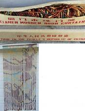 NEW ORIGINAL XIAMEN WOODEN DOOR BEAD CURTAIN - made in peoples republic of china