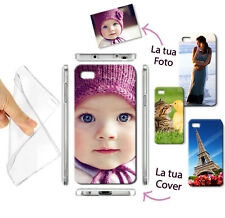 NEW CUSTODIA COVER MORBIDA GEL TPU FOTO PERSONALIZZATA PER Iphone 5 5s