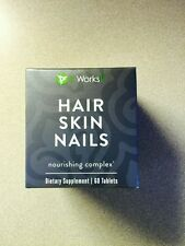 It Works! HAIR SKIN and NAILS Sealed New In Box SALONS CLOSING!! exp 4/18