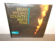 * Brian Hyland . Country Meets Folk . Sparton Canadian . Shrink Wrap . LP