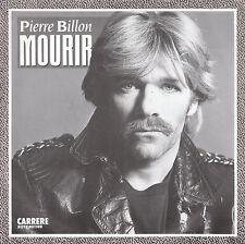 """7"""" 45 TOURS FRANCE PIERRE BILLON """"Mourir / Bonjour Mon Fils"""" 80'S"""