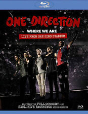 Where We Are: Live From San Siro Stadium [Blu-ray], New DVD, One Direction, Paul