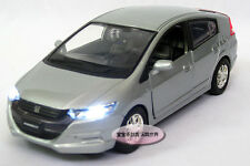 Free shipping 1:32 Honda Insight Alloy Diecast Model Car Sound&Light Silver 221b