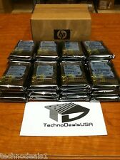 "HP 300GB 10K RPM 2.5"" DUAL PORT 507284-001 507127-B21 SAS HARD DRIVE - LOT OF10"