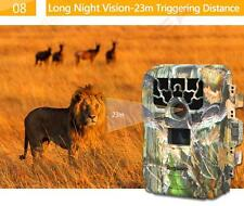 Com 12MP IR Night Vision Wildlife Hunt Trail Camera Security Stealth Photo