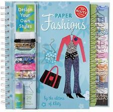 KLUTZ Paper Fashions : Design Your Own Styles ~ BRAND NEW ~ FREE SHIPPING