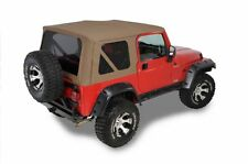 1997-2006 Jeep Wrangler Replacement Spice Tan Soft Top & Tinted Windows