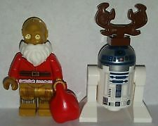 LEGO Star Wars Minifigures 75097 Advent Calendar Santa C3PO and R2D2 (NEW)