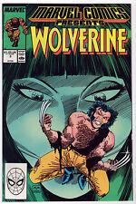 Marvel Comics Presents WOLVERINE 1988-89 LOT (7) VF-/VF Man-Thing Master Kung-Fu