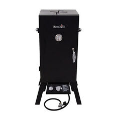 Char Broil 20-Lb Cylinder Piezo Ignition Gas Vertical Smoker