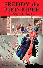 Freddy the Pied Piper (Freddy the Pig), Brooks, Walter R., Very Good Book