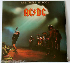 AC/DC Let There Be Rock LP vinyl Eur 2003 Columbia 5107611 New/Sealed!
