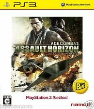 Used PS3 ACE COMBAT ASSAULT HORIZON SONY PLAYSTATION 3 JAPAN JAPANESE IMPORT