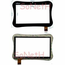 "Touch screen Clementoni myfirst clempad Vetro Digitizer 7,0"" Nero"